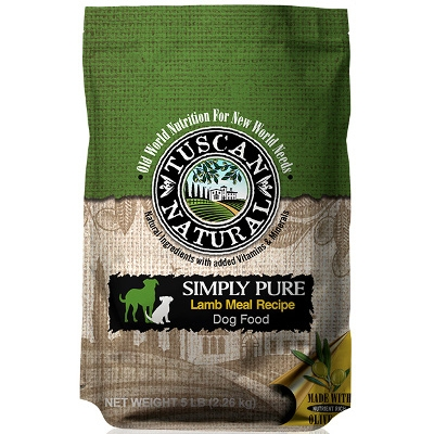 Simply Pure Lamb & Rice Dry Dog Food