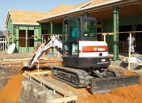 Bobcat E50 Excavator w/ Thumb