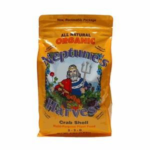 Neptune's Harvest Crab Shell Organic Fertilizer 4 Pound