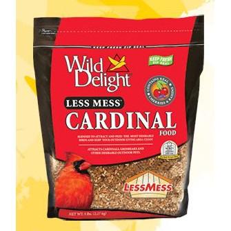 Wild Delight Less Mess Cardinal Food 5 Pound