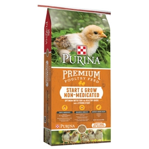 Purina® Start & Grow® Non-Medicated Chick Starter
