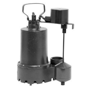 Superior Pump 1/3 HP Cast Iron Sump Pump