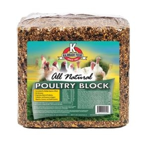 Kalmbach Feeds All Natural Poultry Block 25 Pound