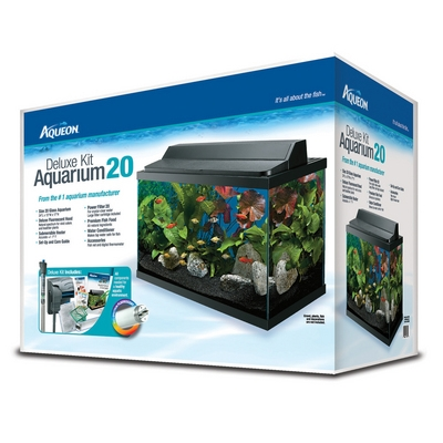 Aqueon 20 Gallon Aquarium Kit