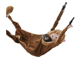 Hangin' Monkey Hammock for Ferrets