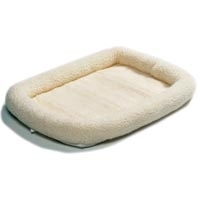 Dreamzone Fleece Bed Natural 51X33