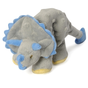 Go Dog Dino Pet Toy - Triceratops