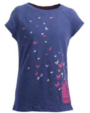 Carhartt Little Girls Butterfly Tee