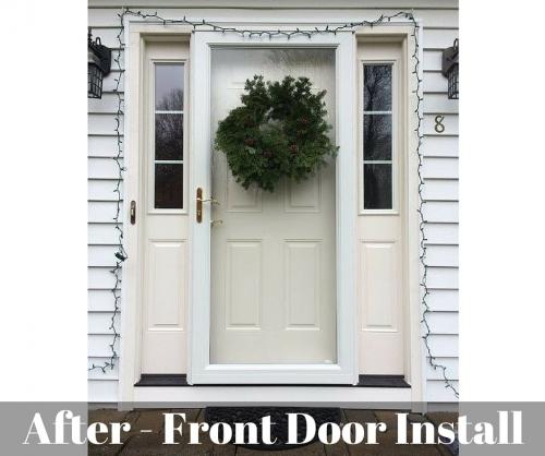After Front Door Installation