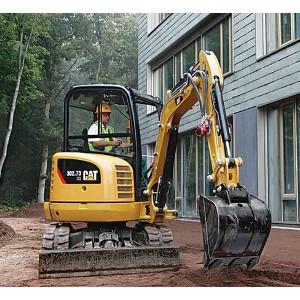 CAT302.7D CR Mini Hydraulic Excavator