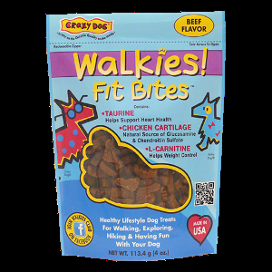Crazy Dog Walkies Fit Bites - Beef