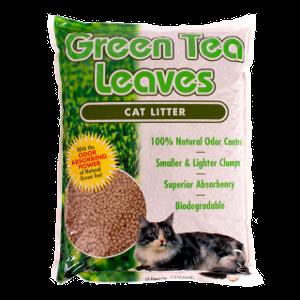 Green Tea Leaves Cat Litter 5.5 Pound