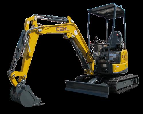 Gehl Compact Excavator, Gen 2