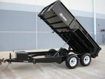 Bri-Mar Dump Trailer, GVW 10,000 lbs.
