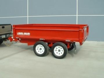 Bri-Mar Dump Trailer Tandem Axle, GVW 10,000 lbs.