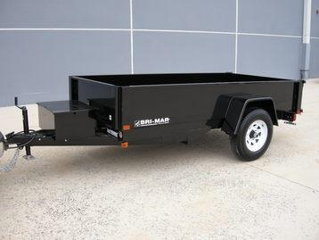 Bri-Mar Dump Trailer, GVW 5,000 lbs.
