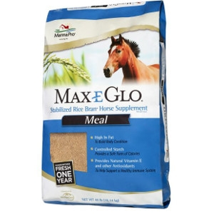 Max-E-Glo Stabilized Rice Bran Horse Supplement Meal