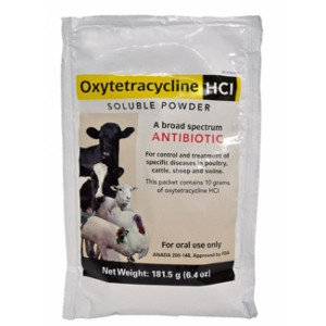 Oxytetracycline HCl Soluble Powder