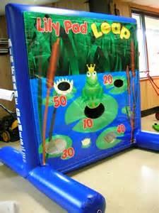 Inflatable Frame Bean Bag Toss Game