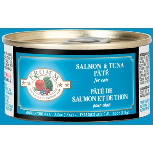 Fromm Four Star Salmon & Tuna Pâté Cat Can Food