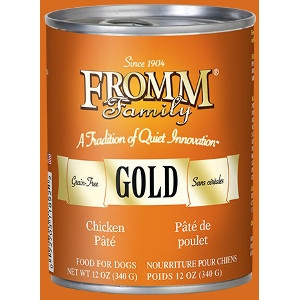 Fromm Gold Can Dog Food Chicken Pâté