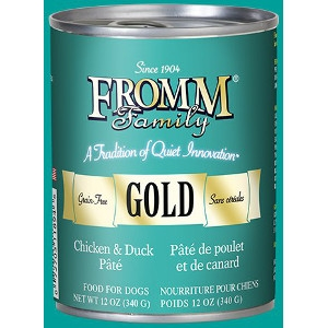 Fromm Gold Can Dog Food Chicken & Duck Pâté