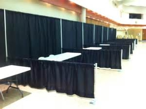 Pipe And Drape Backdrops And Booths