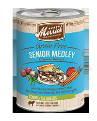 Merrick Senior Medley Can Dog 12/13.2 oz.