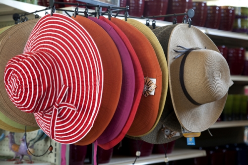 Gardening Supplies - Hats!