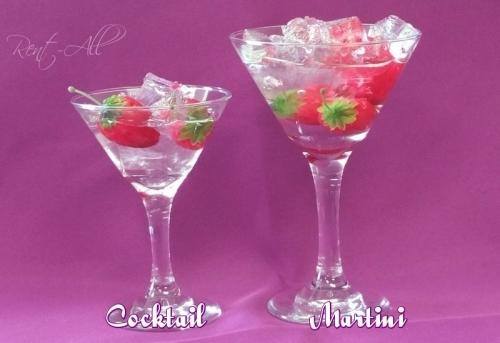 Glassware Martini 9.5 oz.
