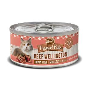 Purrfect Bistro Beef Wellington 3oz Cat