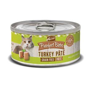 Purrfect BistroTurkey Pâté 3oz Cat