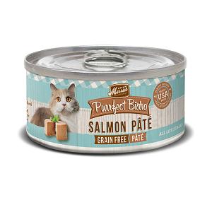Purrfect Bistro Salmon Pâté 3oz Cat