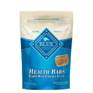 BLUE™ Health Bars Chicken Liver Natural Biscuits for Dogs