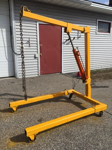 Engine Hoist Taylor Rental Of Manchester Nh