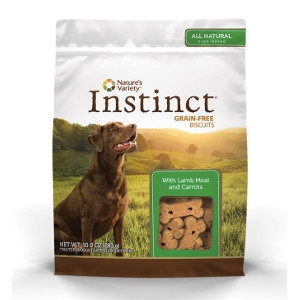 Nature's Variety Instinct Biscuits Lamb Meal with Carrots and Mint