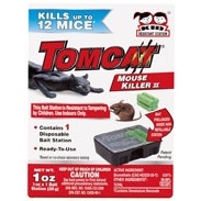 Tomcat® Mouse Killer II (Kid Resistant Disposable Station)