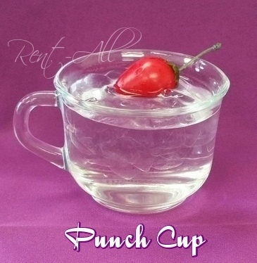 Glass Punch Cup 6 oz.