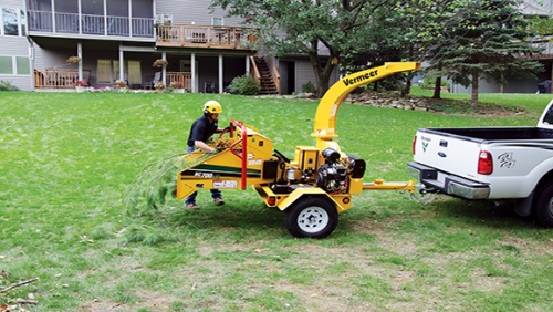Chipper, 6″ capacity (branches)