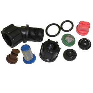 Sprayer Elbow/Nozzle & O-Ring Assortment