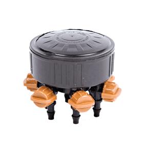 DIG 6-outlet Adjustable Drip Manifold