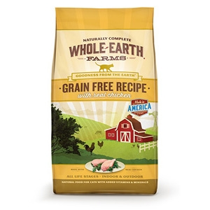 Whole Earth Farms Grain Free Chicken Dry Cat Food