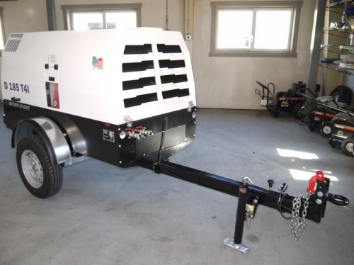 185 CFM Compressor, Towable