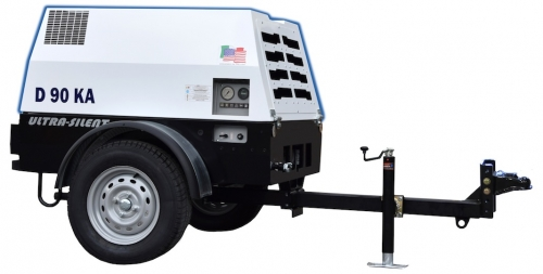 90 CFM Compressor, Towable