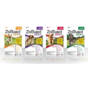 ZoGuard Plus for Extra Large Dogs: 89 - 132 lbs.