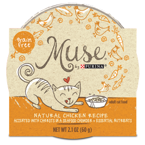 Muse by Purina: Natural Chicken Recipe in Chowder Cat Food