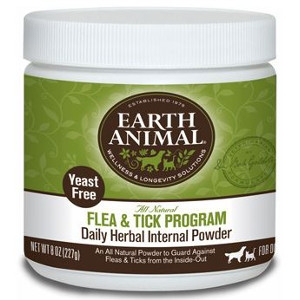Earth Animal Flea & Tick Program Daily Herbal Internal Powder