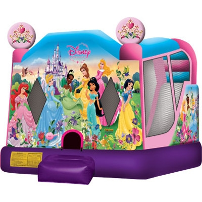 Disney Princess 2 Bounce House Wet & Dry Combo