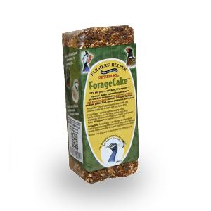 13 oz. Farmers' Helper™ Optimal ForageCake™ for Mixed Flocks