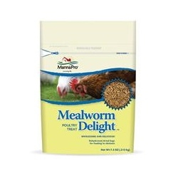 Mealworm Delight Poultry Treat- 7.5 OZ